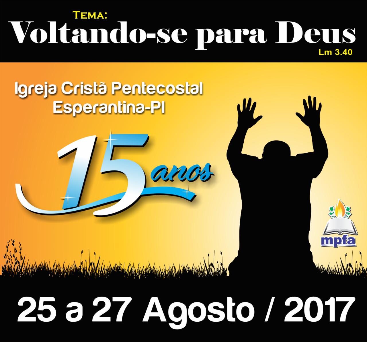 Festa da ICP Esperantina-PI