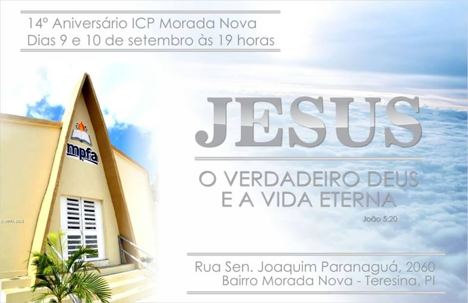 ICP Teresina MN em Festa!