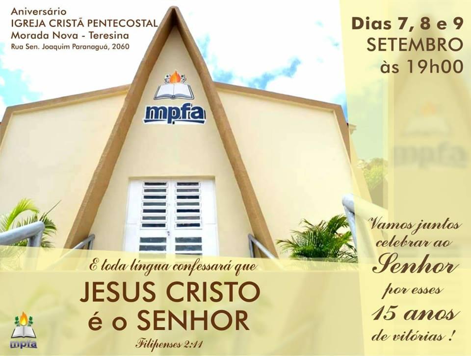 Aniversário ICP Morada Nova (Teresina)