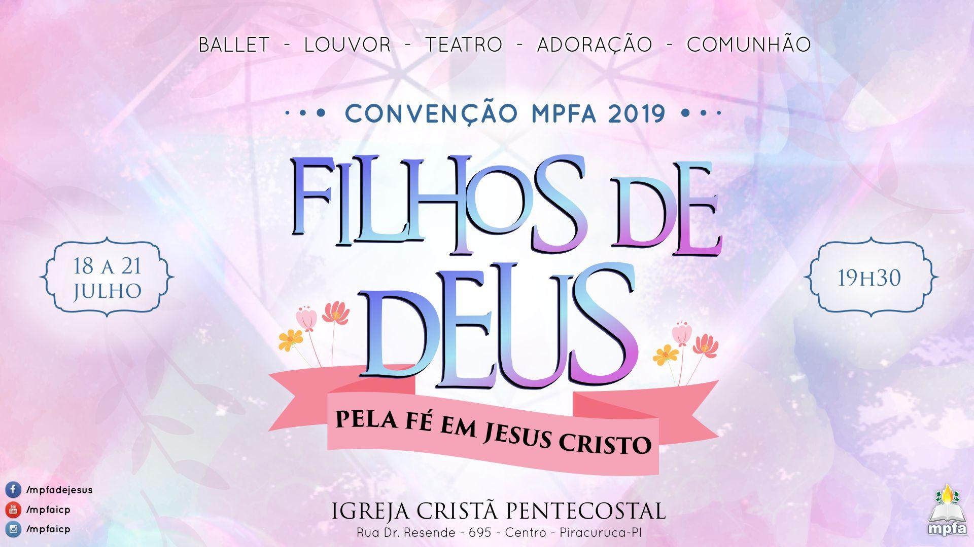 Convenção Nacional MPFA 2019