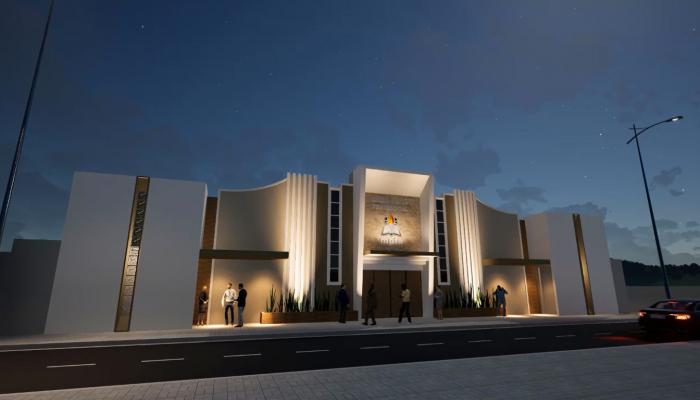 Novo templo sede do MPFA