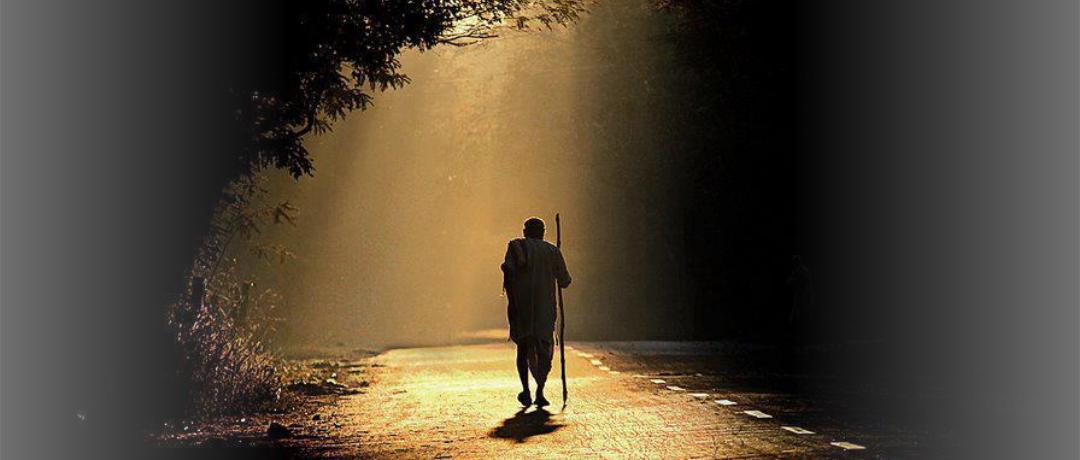 O medo move o caminhante